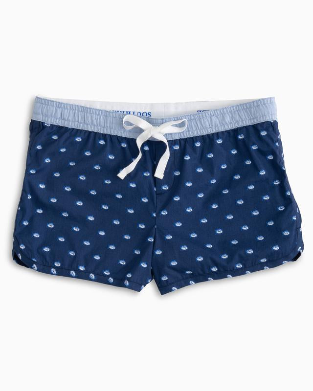 Southern Tide Women's Skipjack Lounge Short - Blue Night