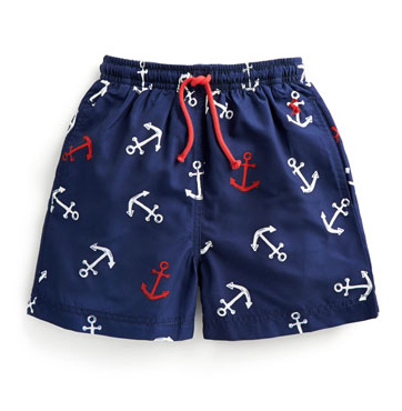 Joules Boys Swim Trunks - Anchors