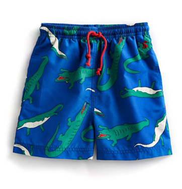 Joules Boys Swim Trunks - Crocodiles