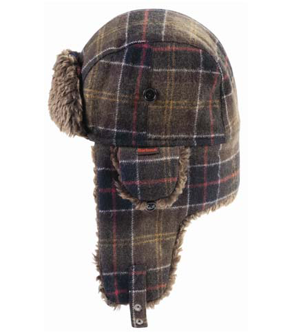 Barbour Tartan Hunter Hat