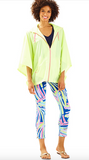 Lilly Pulitzer Tropical Storm Poncho - Lemon Drop
