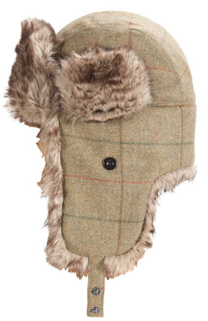 Barbour Tweed Hunter Hat