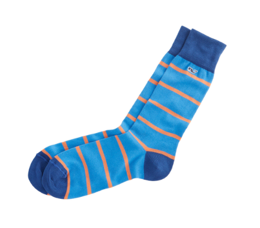 Vineyard Vines Men's Vineyard Socks - Sweet Potato