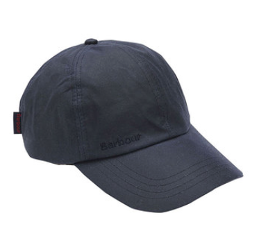 Barbour Wax Sports Cap - Navy
