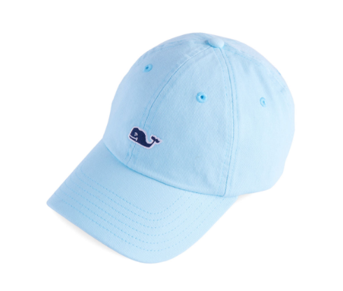 Vineyard Vines Womens Classic Baseball Hat - Crystal Blue  f4cd0e7af0d6