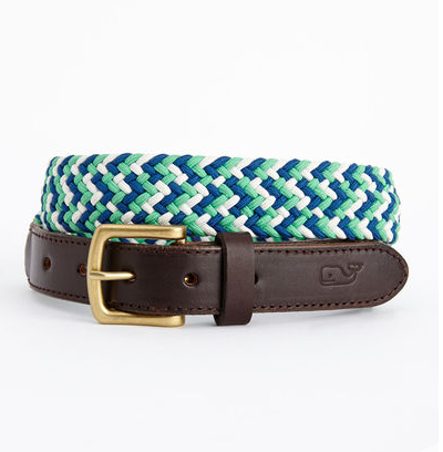 Vineyard Vines Woven Bungee Club Belt