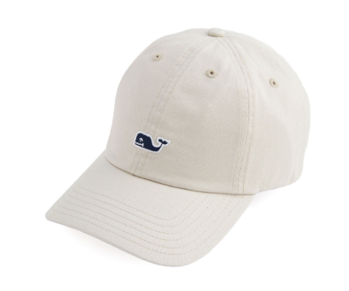 Vineyard Vines Men's Whale Logo Baseball Hat - Boardwalk