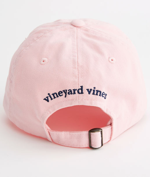 Vineyard Vines Whale Logo Baseball Hat - Flamingo  367968ff4420