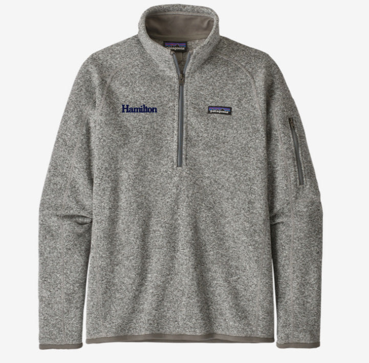 Hamilton Women's Better Sweater Quarter Zip - Grey