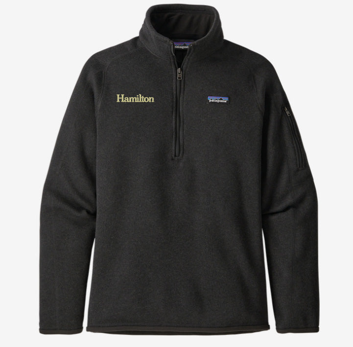 Hamilton Women's Better Sweater Quarter Zip - Black