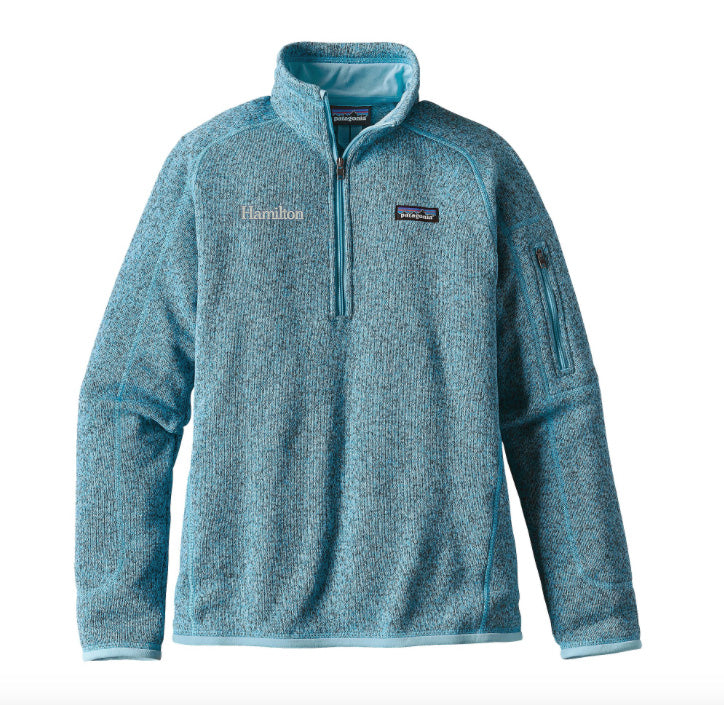 Hamilton Women's Better Sweater Quarter Zip - CB Blue