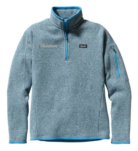 Hamilton Women's Better Sweater Quarter Zip - DS Blue