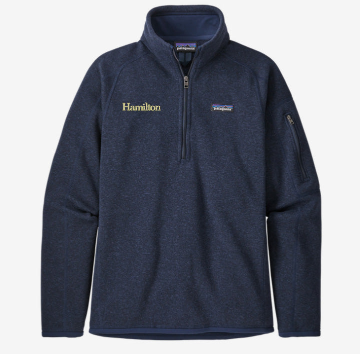 Hamilton Women's Better Sweater Quarter Zip - Navy