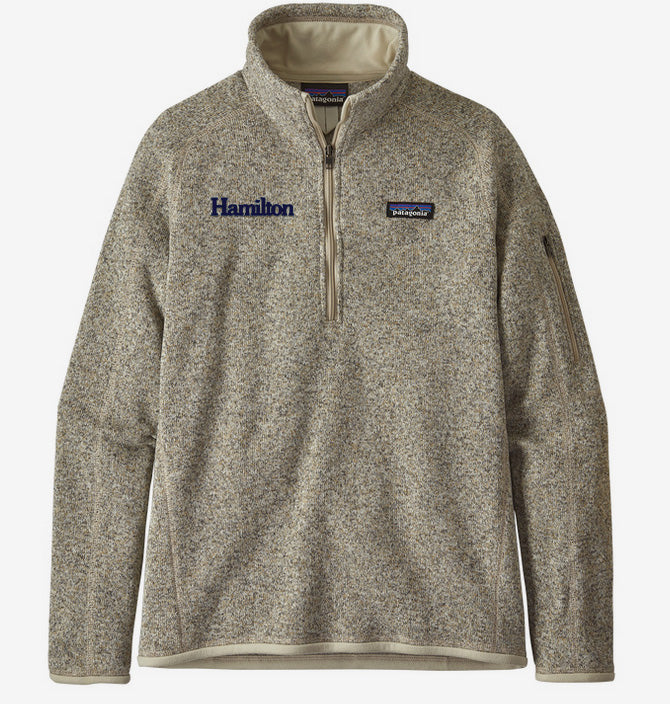 Hamilton Women's Better Sweater Quarter Zip - Tan