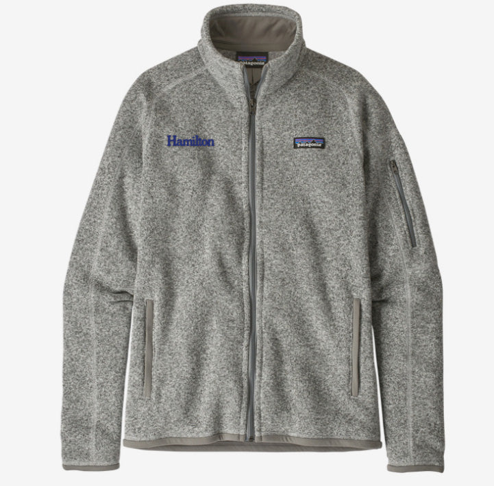 Hamilton Women's Better Sweater Full Zip - Grey