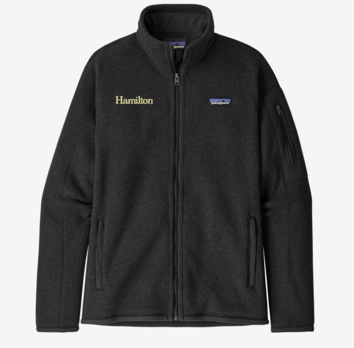 Hamilton Women's Better Sweater Full Zip - Black