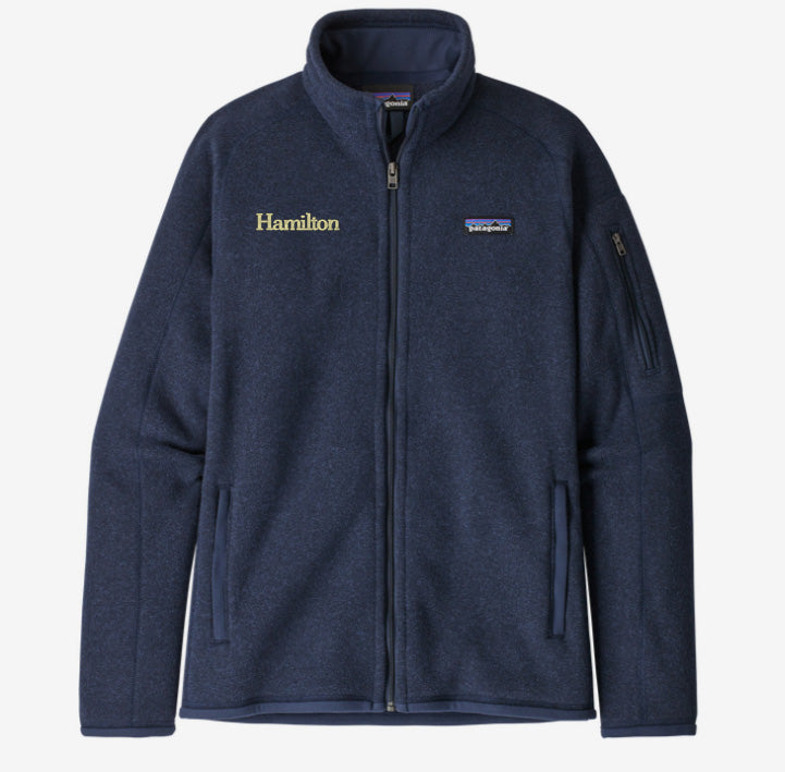 Hamilton Women's Better Sweater Full Zip - Navy