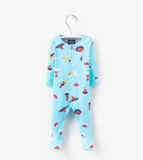 Joules Baby Ziggy Baby Grow - Surfing Dogs