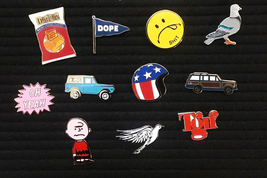 Assorted Enamel Pins