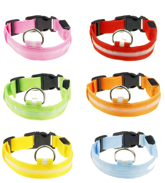 SPECIAL PRICE - GLOW LED Dog Collars - I Found it On Sale!