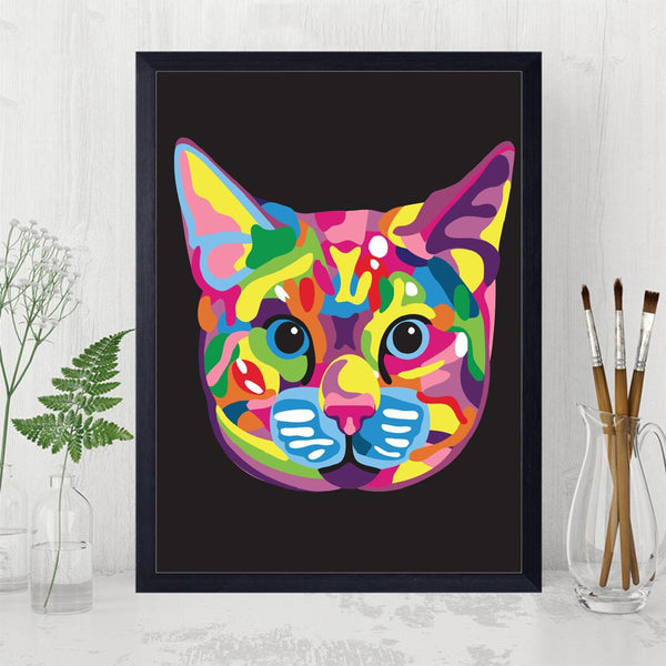 PAINT BY NUMBERS - ABSTRACT ANIMALS 1 - I Found it On Sale!