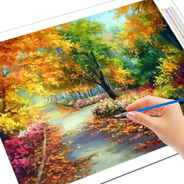 PAINT BY NUMBERS - TREE LANDSCAPES 2 - I Found it On Sale!