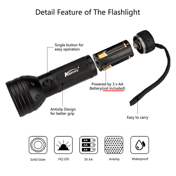 51 LED UV Flashlight - Blacklight Urine Detector - Locate Pet Stains, Bedbugs, and More - I Found it On Sale!