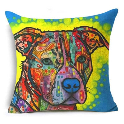 Throw Pillow Cover - Abstract Dog 5 - I Found it On Sale!