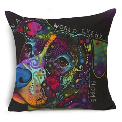 Throw Pillow Cover - Abstract Dog 7 - I Found it On Sale!