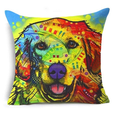 Throw Pillow Cover - Abstract Dog 1 - I Found it On Sale!