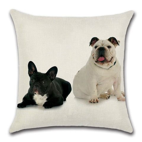 Bulldog Throw Pillow Cover 3 - I Found it On Sale!