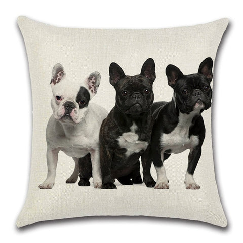 Bulldog Throw Pillow Cover 5 - I Found it On Sale!