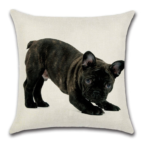 Bulldog Throw Pillow Cover 6 - I Found it On Sale!