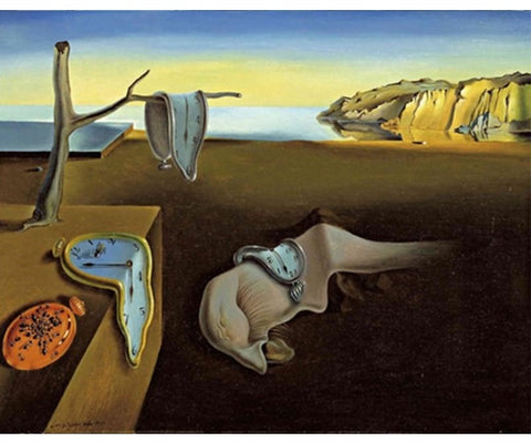 Salvador Dali Painting By Numbers - The Persistence of Memory