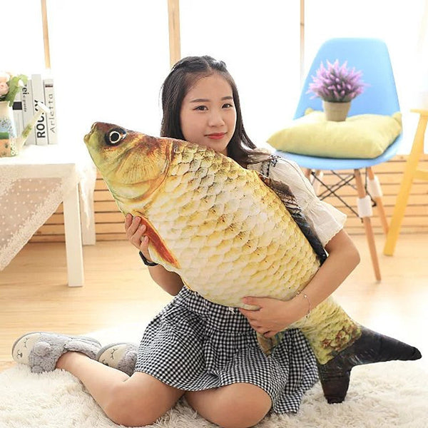 Realistic Fish Shaped Throw Pillow 20cm/40cm/60cm - I Found it On Sale!
