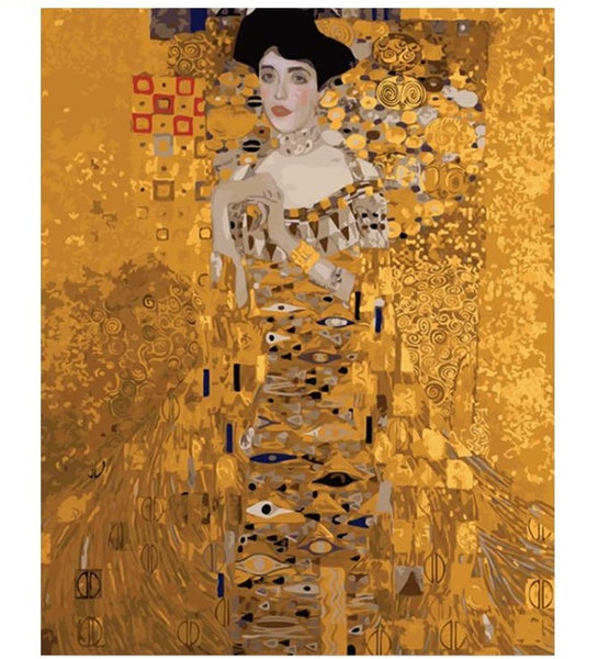 Gustav Klimt Painting By Numbers - Adele Bloch-Bauer I