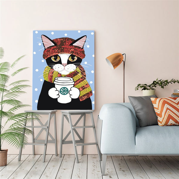 PAINT BY NUMBERS - CUTE CAT 1 - I Found it On Sale!