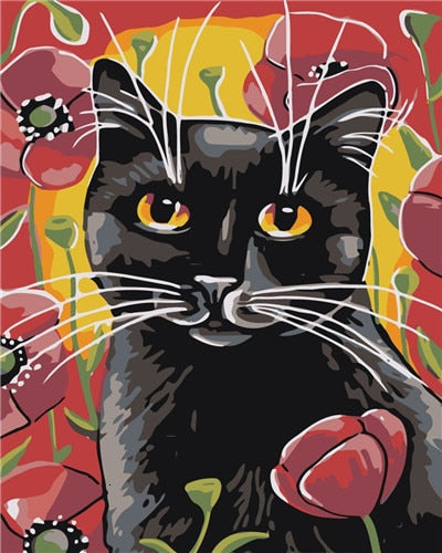 PAINT BY NUMBERS - CUTE CAT 5 - I Found it On Sale!