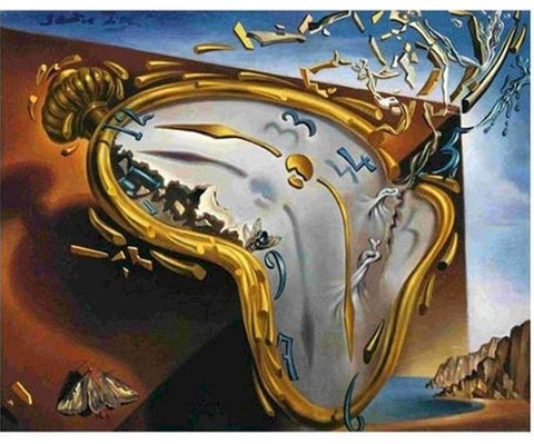 Salvador Dali Painting By Numbers - Melting Watch