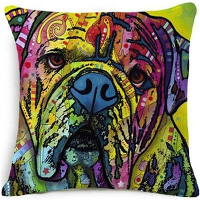 Throw Pillow Cover - Abstract Dog 9 - I Found it On Sale!