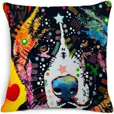 Throw Pillow Cover - Abstract Dog 10 - I Found it On Sale!
