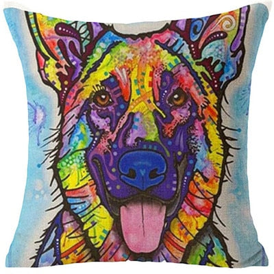 Throw Pillow Cover - Abstract Dog 11 - I Found it On Sale!