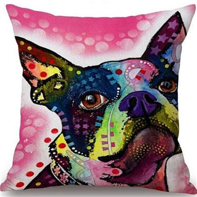 Throw Pillow Cover - Abstract Dog 12 - I Found it On Sale!