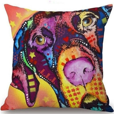 Throw Pillow Cover - Abstract Dog 13 - I Found it On Sale!