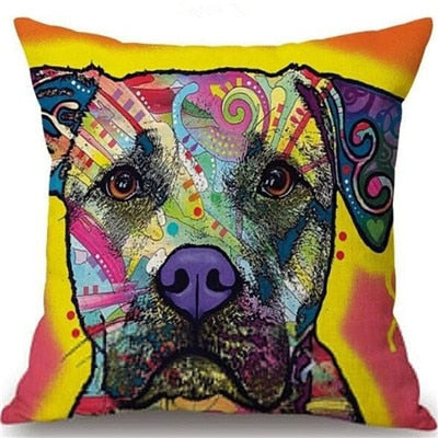 Throw Pillow Cover - Abstract Dog 14 - I Found it On Sale!
