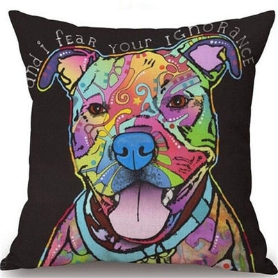 Throw Pillow Cover - Abstract Dog 17 - I Found it On Sale!