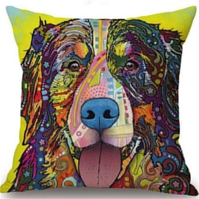 Throw Pillow Cover - Abstract Dog 15 - I Found it On Sale!