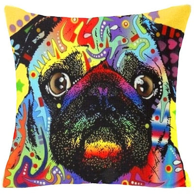 Throw Pillow Cover - Abstract Dog 16 - I Found it On Sale!