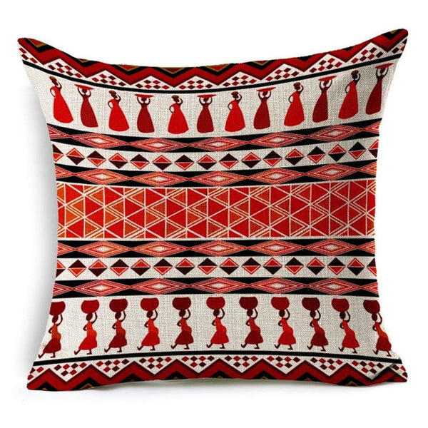 Bohemia Paisley Style Geometric Cushion 40x40 - I Found it On Sale!