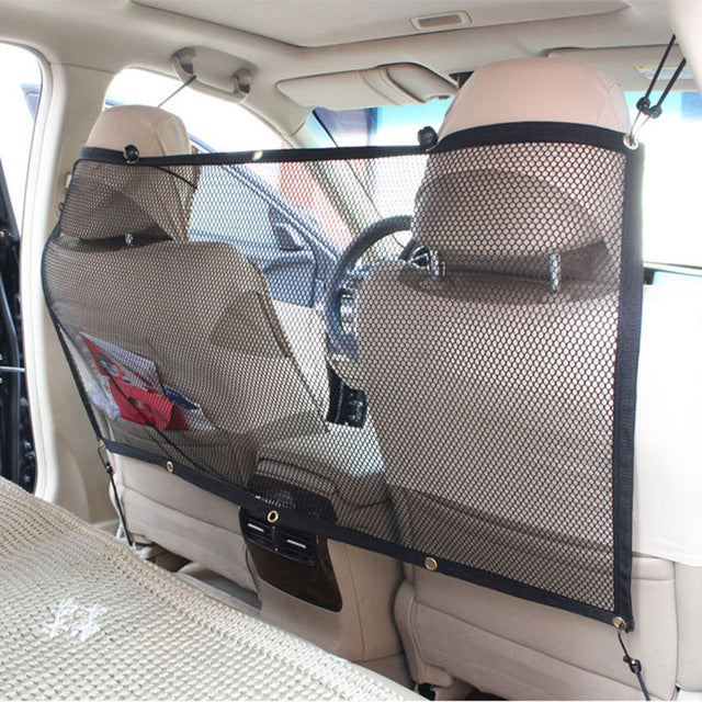 Dog Mesh Safety Barrier Net - Fits in Most Vehicles - Drive Safely With Pets - I Found it On Sale!